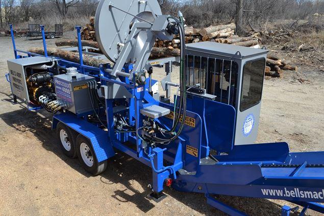 Bells Machine 4000 Series Firewood Processor