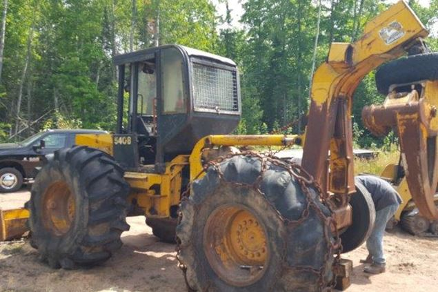 John Deere 540B Parts and Parts Machines
