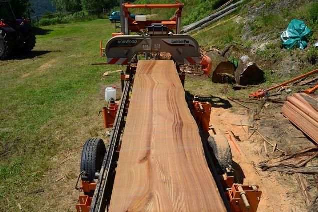 Norwood Lumberpro Hd36 Portable Band Sawmill Manual Or Hydraulic It S Your Choice