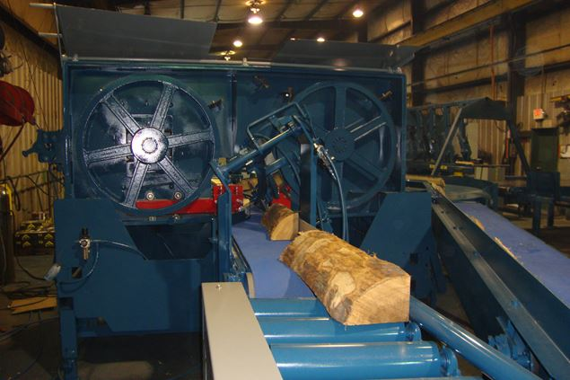 Saw Mill For Sale >> Brewer Golden Eagle Stave Band Resaw
