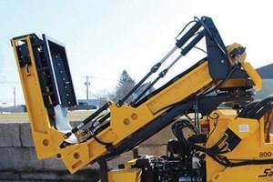 Salsco Hydraulic Hopper  Conveyor