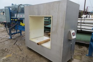 Eriez 46in x 38in Whole Log  Metal Detector