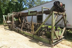 1988 Cooper Machine 12ft End Dogging  Scragg Mill