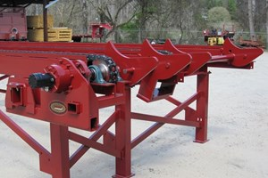 2019 Meadows Mills Log Deck, 2 Strand  Conveyors Decks (Log Lumber)