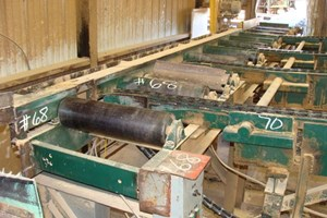 Unknown 22ft x 24in  Conveyors-Live Roll