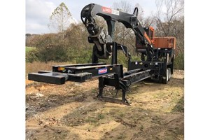 2017 Barko 295B  Log Loader Knuckleboom