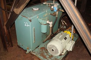Berendsen 20HP Hyd Unit  Hydraulic Power Pack