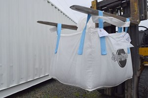 Kansas City Bag Co super sack  Mulch Bagger