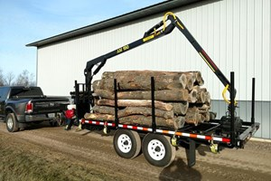 AM Machinery RFR07 / 190  Trailer-Log
