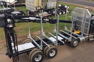 Galvastar LOG BUNKS  Truck-Parts