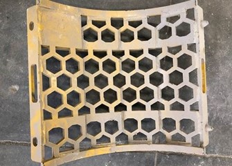 Vermeer HG200 2Inch Hex Screen Part and Part Machine