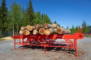 2020 Hakki Pilke HakkiFeed 472  Firewood Processor