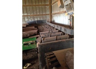 Unknown Live Outfeed Rollers Live Floor Conveyor