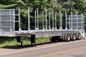 Ravens Aluminum Bunk Trailer  Trailer-Log