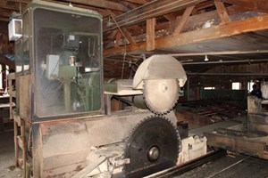 1983 HMC Corp AC40  Circular Sawmill