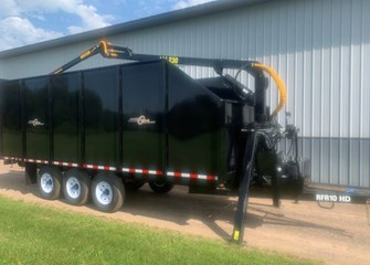 AM Machinery RFR10HD Dump Trailer