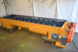 Unknown shaftless screw auger  Conveyor-Auger