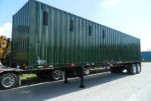 Unknown Steel Container  Trailer-Chip