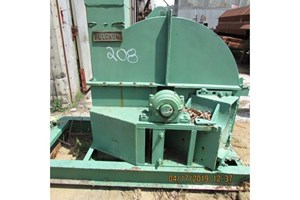 Fulghum 48in  Wood Chipper - Stationary