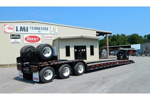 2020 Pitts LB55-22DC Flip  Trailer-Lowboy