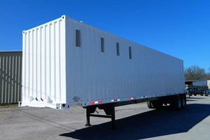 Custom Built Container Closed Top  Trailer-Chip