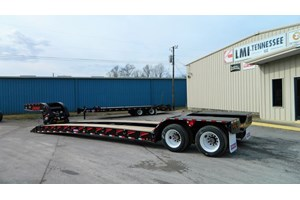 2020 Pitts LB35-22DC AR  Trailer-Lowboy