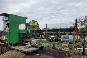 2009 CRD Metal Works Rapido Loco  Firewood Processor