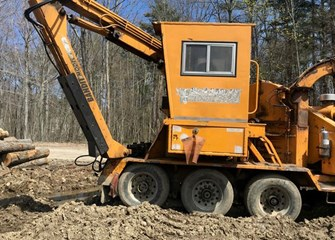 Bandit 2400 Mobile Wood Chipper