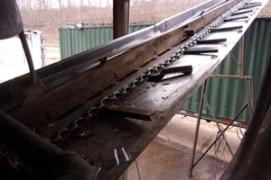 Cornell 35ft  Conveyors-Barn Sweep