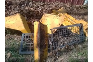 John Deere 700J Tank Guards  Part and Part Machine