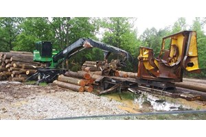 2008 John Deere 437C  Log Loader Knuckleboom