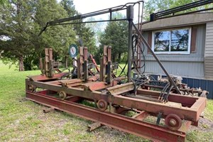 Meadows Mills 3 Head Block  Carriage (Sawmill)