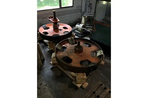 McDonough Pair of 6ft Wheels  Band Mills (Wide)