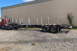 2014 Battle Wagon Trailers 46ft 18in Drop Dovetail  Trailer-Log