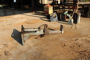 Wallenstein Fits Skid Loader  Firewood Splitter
