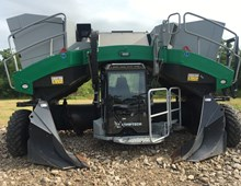 2017 Komptech X55 Windrow Turner
