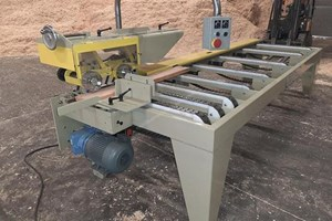 Custom Built  Infeed  Moulder