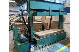 Dependable Multisection 203 Cold Press  Veneer Equipment