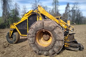 Bell Super T  Feller Buncher