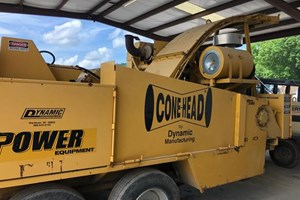 Dynamic CH585  Wood Chipper - Mobile