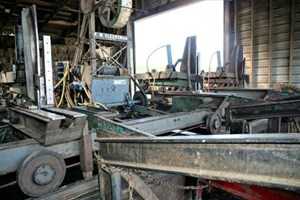 Cleereman Industries  Carriage (Sawmill)