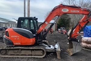 2017 Kubota KX080-4  Excavator