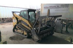 2014 Caterpillar 289D  Brush Cutter and Land Clearing