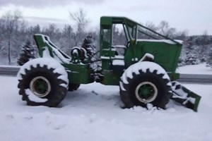 Shop Built Cable  Skidder