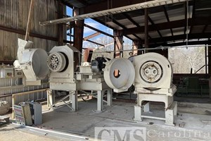 Sprout Waldron 125 HP Pellet Mill  Briquetting System