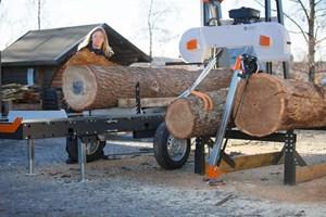 Logosol B1001  Portable Sawmill