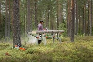 Logosol F2 4m Sawmill  Portable Sawmill