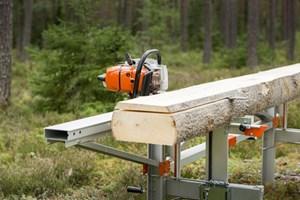 Logosol F2 5m Sawmill  Portable Sawmill