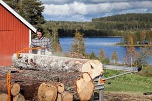 Logosol F2 6m Sawmill  Portable Sawmill