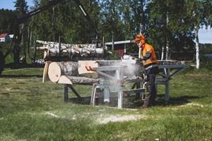 Logosol F2+ 4m Sawmill  Portable Sawmill